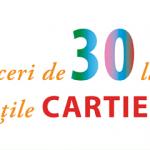 Reduceri de 30 la sută la cărțile Cartier la Salonul de carte pentru copii și în Librăriile Cartier. 11 – 14 mai 2017