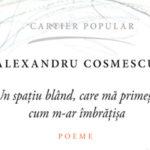 Seară poetică Alexandru Cosmescu, la Librăria din Centru