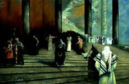 The artist with Rabbin Eyes